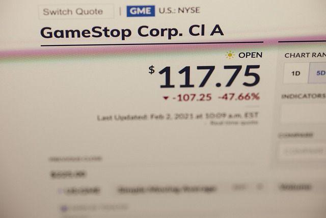 Die Gamestop-Aktie gehört aktuell zu den beliebtesten Aktien.